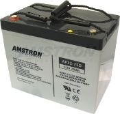 Battery - 12V/75AH Sealed Lead Acid Battery