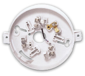 Smoke and Heat Detector Base-Signature Series
