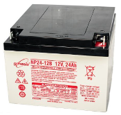 Battery - 12V/24AH Sealed Lead Acid Battery