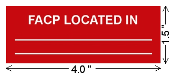 Sign-FACP Located In