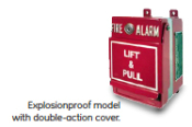 Hazardous Location Manual Pull Station Double Action Cover