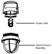Hazardous Location Strobe Replacement Hardware