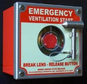 Emergency Break Glass Switch