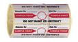 Aspiration Smoke Detector Sampling Point Identification Decal